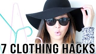 7 Clothing Hacks You Need To Know!