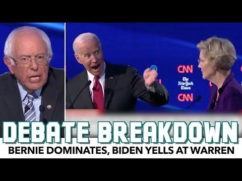 Bernie Dominates Debate, Biden Yells At Warren