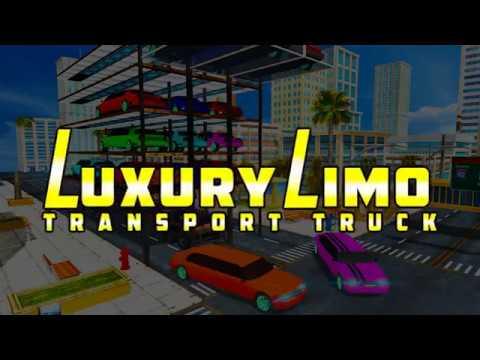 Luxury Limo Transport Truck Parking Driving School