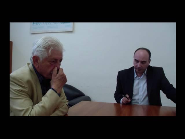 Συνέντευξη του Αντώνη Αντίοχου Μπαλιακρά στον Δημήτρη Τετράδη.