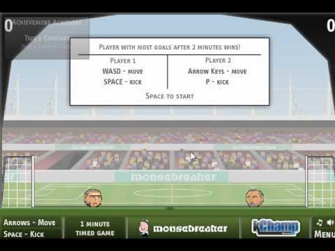 Обзор флеш игры Футбол головами