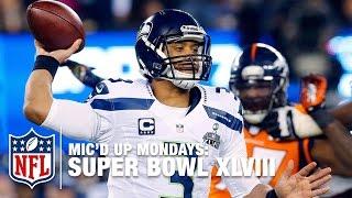 Russell Wilson's Mic'd Up Super Bowl XLVIII | #MicdUpMondays | NFL