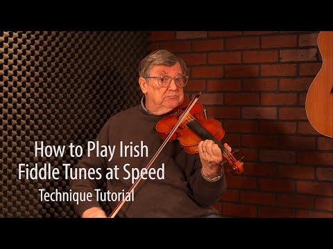 How To Play Irish Fiddle At Speed - FREE Fiddle Lesson By Kevin Burke