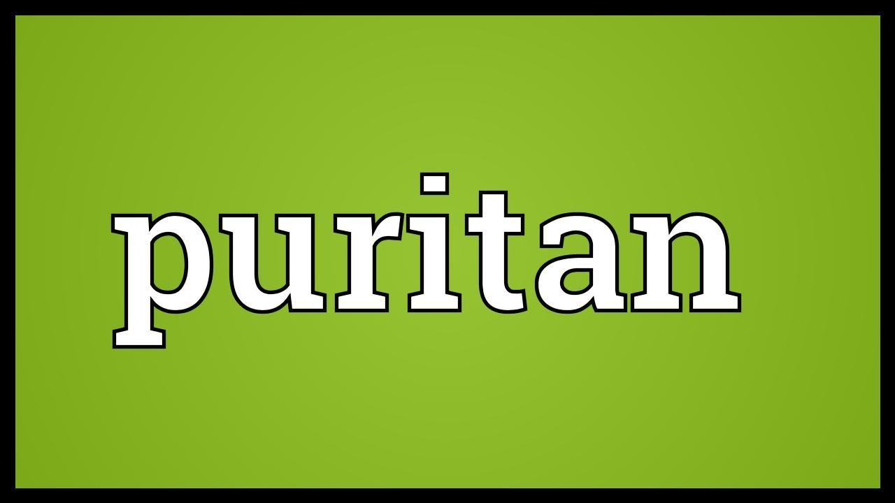 Puritan Meaning