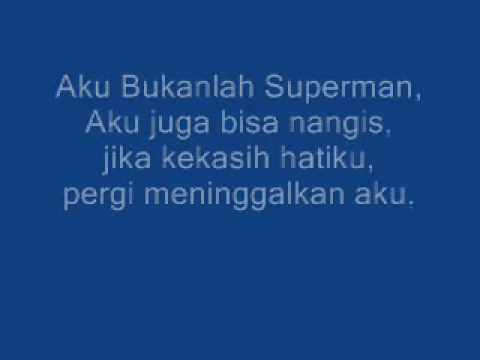 Bukan Superman With Lyrics(Lucky Laki)