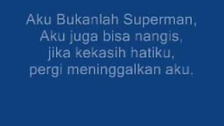 Gambar cover Bukan Superman With Lyrics(Lucky Laki)