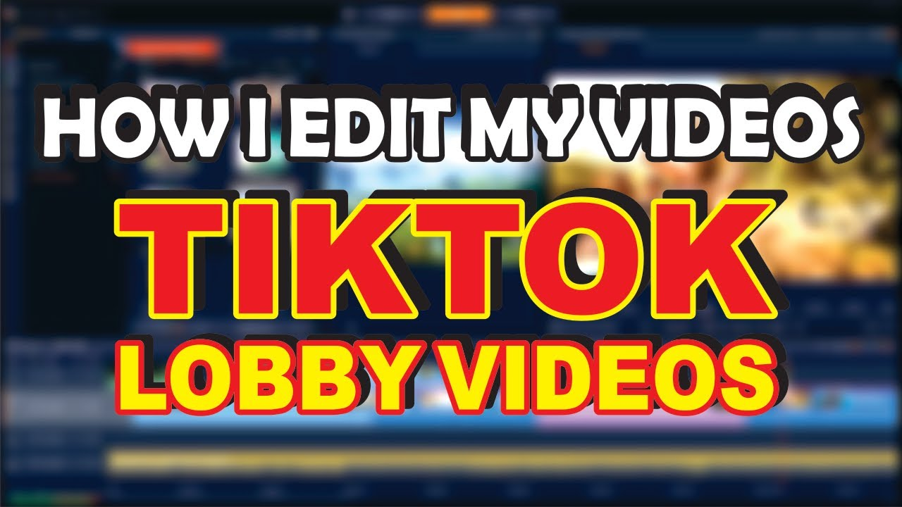 How I Edit My TikTok Videos With Mobile | How to Add Effects | DrPikachu | GirlGamer | PubgMobile |