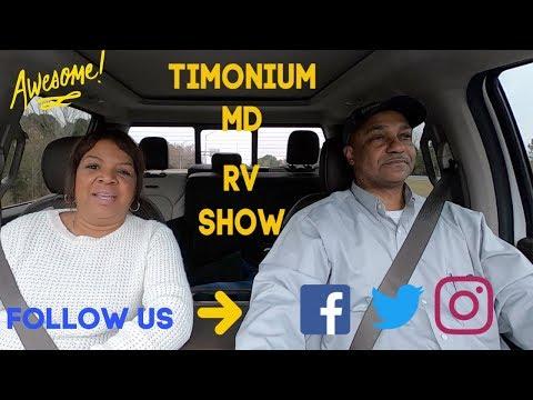 Our Tour Of The 2019 Timonium Maryland RV Show