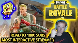 🔴 FORTNITE WEEKEND MADNESS - EARN COINS - OPEN LOBBY 🔴 #1 MOST INTERACTIVE STREAMER 🔴