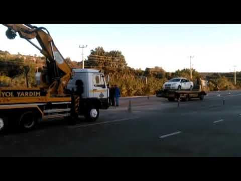 Kızkalesi'nde zincirleme kaza üç yaralı