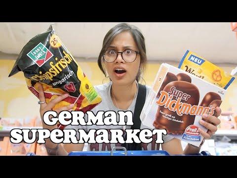Food Shopping At A German Supermarket | Clickfortaz