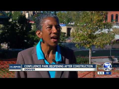 Confluence Park reopening after construction