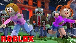 Roblox | Entfliehen Sie dem Zombie Asylum mit Molly und Daisy!