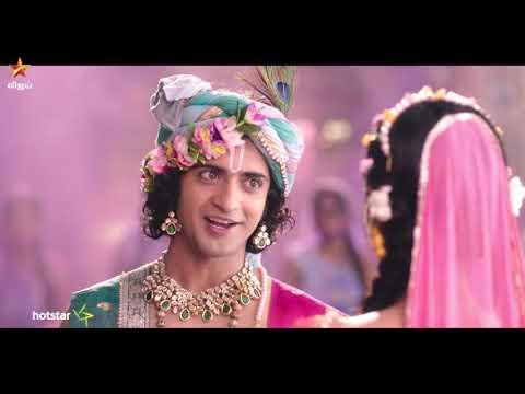vijay tv radha krishna serial