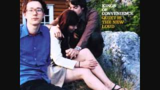 "Kings of Convenience, ""Singing softly to me"""