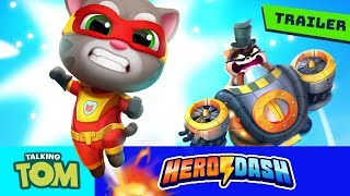 ⚡ Fight the Raccoons! PRE-REGISTER NOW for Talking Tom Hero Dash (NEW GAME Official Trailer) ⚡