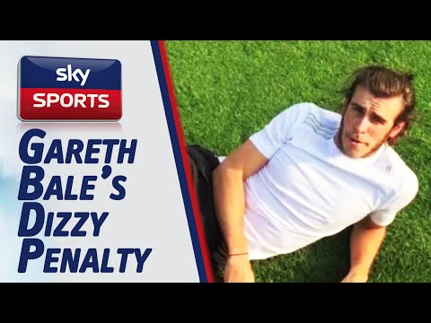 Gareth Bale's takes a Dizzy Penalty