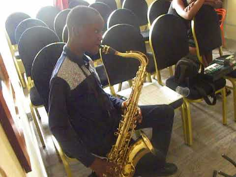 Harry Field Music Academy Student Playing the Trumpet