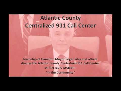 "Atlantic County 911 Call Center discussion on ""In the Community"""