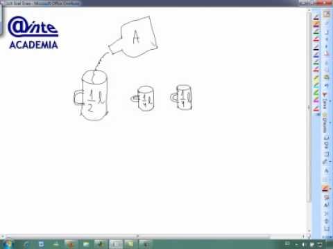 Litros y botellas Matematicas 3 Primaria AINTE - YouTube