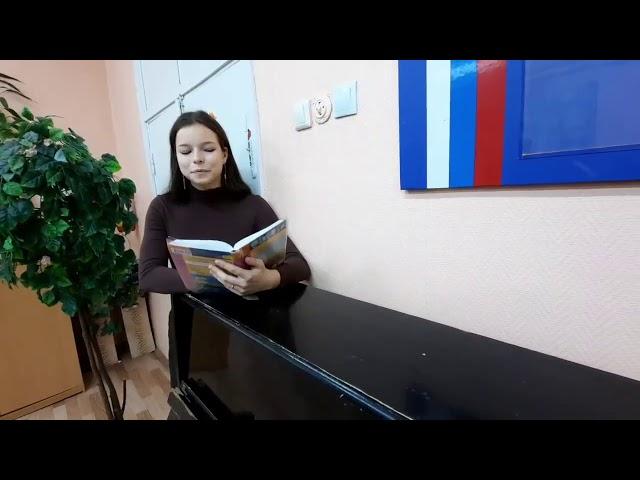 Изображение предпросмотра прочтения – «Дарья Кочерина и Мария Яременко» читает произведение «Заметался пожар голубой» С.А.Есенина