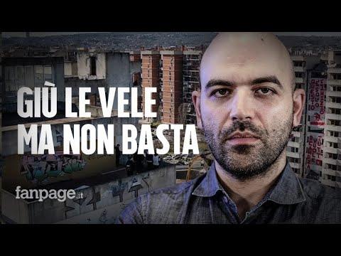 Roberto Saviano e le Vele: 'Per guarire Scampia non serve solo abbatterle. Napoli ancora agonizzante
