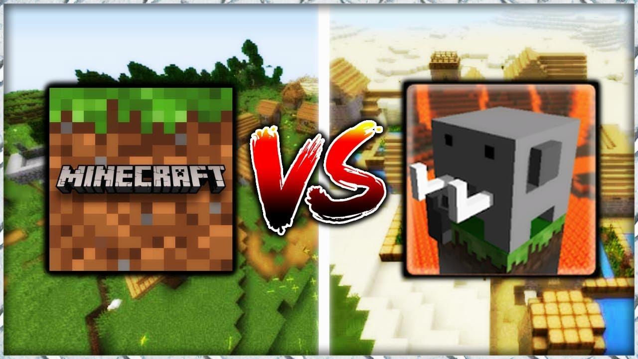 Minecraft Vs Craftsman ¿CUAL ES MEJOR?