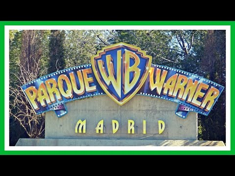 Parque Warner Madrid | Warner Bros Park | 2017 España | Theme Park Spain
