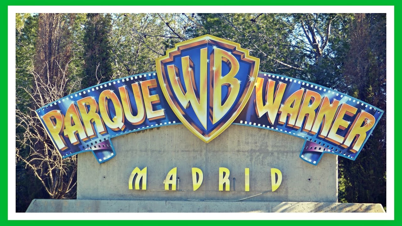 Parque Warner Madrid   Warner Bros Park   2018 España