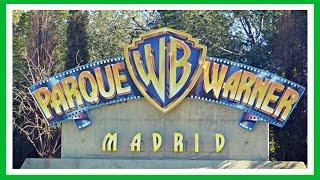 Parque Warner Madrid | Warner Bros Park | 2018 España | Theme Park Spain