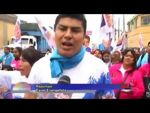 Rudy García realizó Gran Caminata en La Victoria