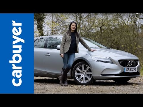 Volvo V40 hatchback review 2017 – Carbuyer