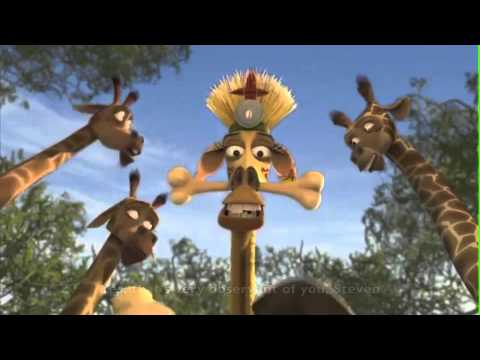 Melman witch doctor vid 4 youtube - Girafe madagascar ...
