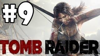 "Tomb Raider 2013 Walkthrough: Part 9 ""Shantytown Part 2"" (XBOX 360/PS3/PC/GAMEPLAY)"