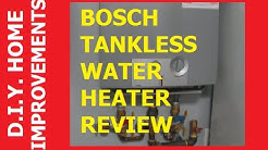 Bosch Tankless Water Heater Review
