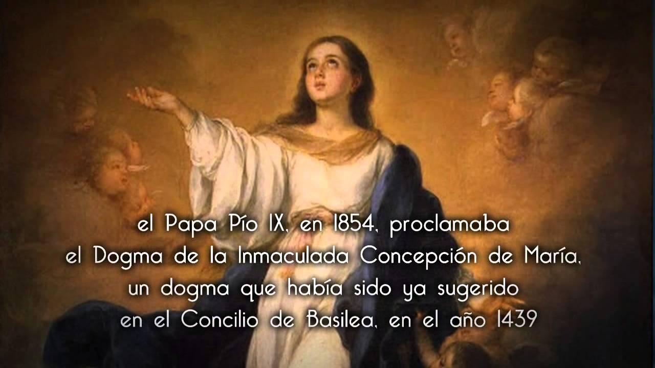Inmaculada Concepción De La Santísima Virgen María Youtube