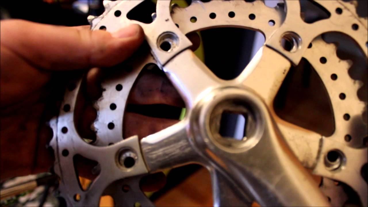 How To Convert 3 Gear Crank To 1 Gear Crank Youtube