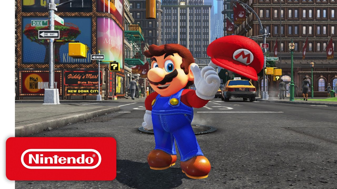 super mario odyssey nintendo switch presentation 2017 trailer