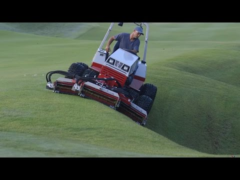 Golf Course Equipment Solutions By Ventrac