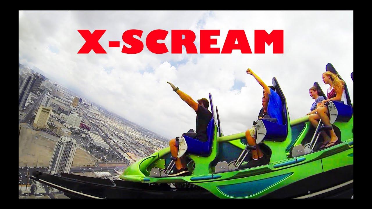 X-SCREAM Thrill Ride at Stratosphere Las Vegas GoPro HD ...