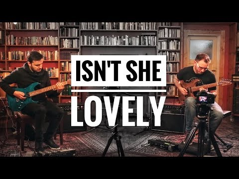 Martin Miller & Tom Quayle - Isn't She Lovely (Stevie Wonder) - Live in Studio