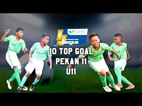Top 10 Goal Indonesia Junior Mayapada League pekan ke-11 [U11] 8-7-2018