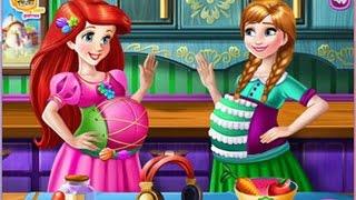 Disney Princess - Ariel and Anna Pregnant Bffs - Sisi Games