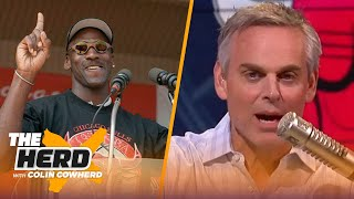 Jordan 'left the party' at the right time, Pippen's portrayal was accurate — Colin | NBA | THE HERD