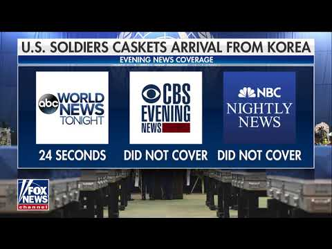 Kurtz: Media Makes 'Wrong Call' With Lack of Coverage of Return of US Soldiers' Remains