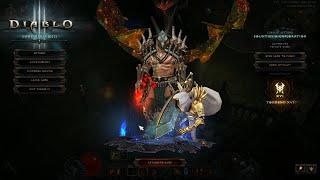 Diablo 3 2.6.8 PTR TEST 10 min GR 120 Updated NEW Frenzy Set Barb!!!