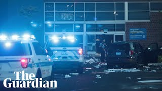 Chicago erupts with violence and looting after police shooting