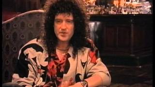 Brian May George Micheal Interview About FIVE LIVE and AIDS