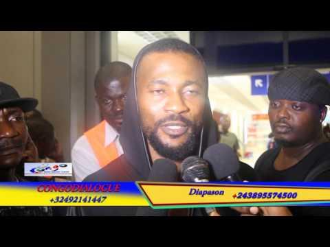 Didier zokora visite kinshasa CONGODIALOGUE