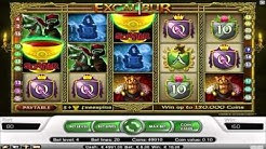 Free Excalibur slot machine by NetEnt gameplay ★ SlotsUp